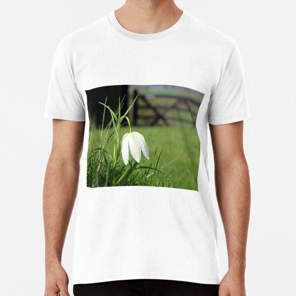 Fritillaria Meleagris Alba Premium T-Shirt