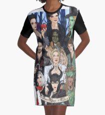 Once Upon A Villain Graphic T-Shirt Dress