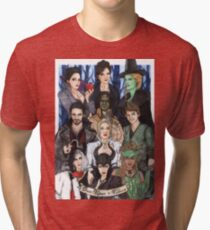 Once Upon A Villain Tri-blend T-Shirt