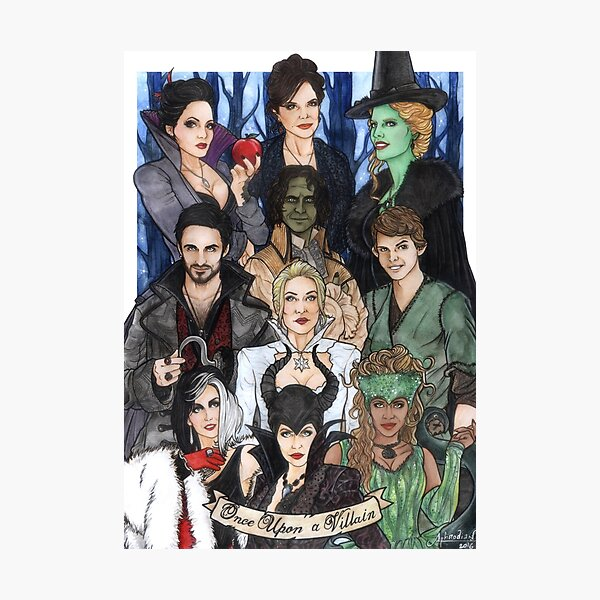 Once Upon A Villain Photographic Print