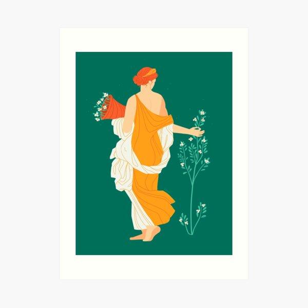 Flora Fresco  Art Print