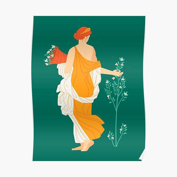 Flora Fresco  Poster