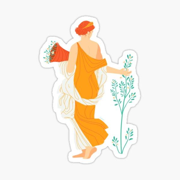 Flora Fresco  Sticker