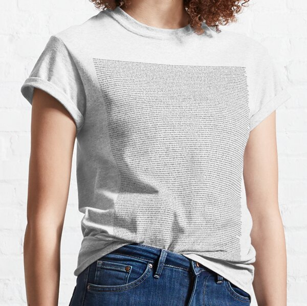 Every Lyric From Midnight Memories Classic T-Shirt