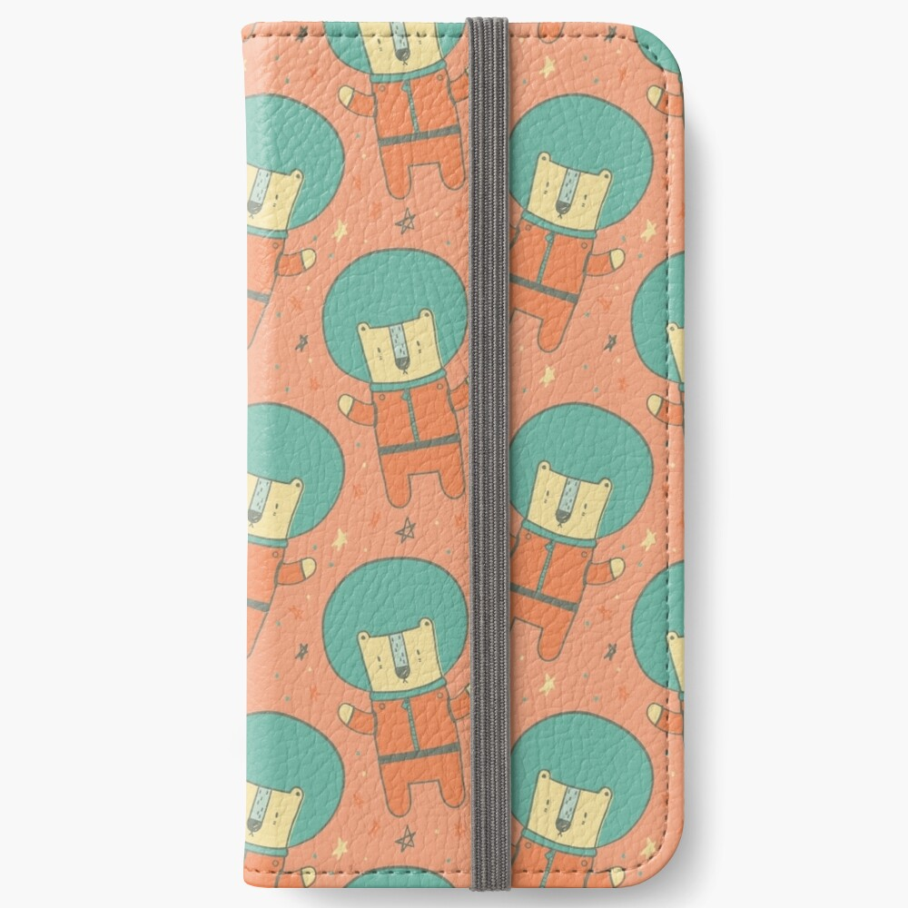 Bearly There in Dreamsickle  iPhone Wallet