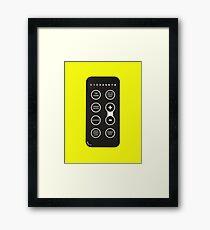Clash Control Framed Print