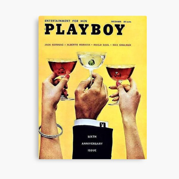 The 12 Best Playboy Covers Canvas Print