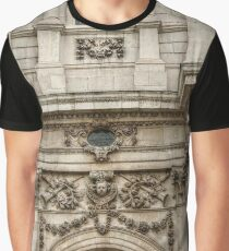 Engaged Columns and Relief Sculptures Graphic T-Shirt