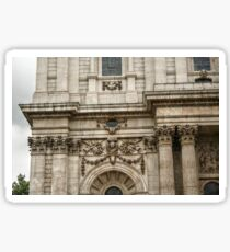 Engaged Columns and Relief Sculptures Sticker