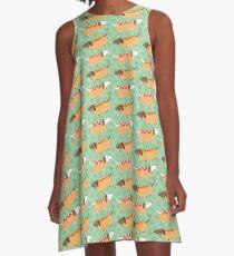 Little Sausages  A-Line Dress