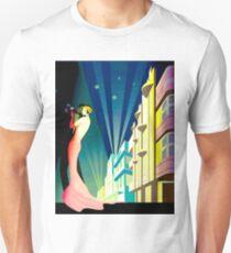 """SOUTH BEACH DANCERS"" Art Deco Print Unisex T-Shirt"