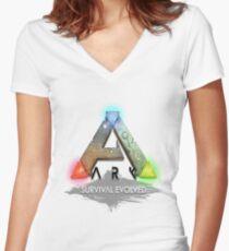 Ark Survival ! Women's Fitted V-Neck T-Shirt