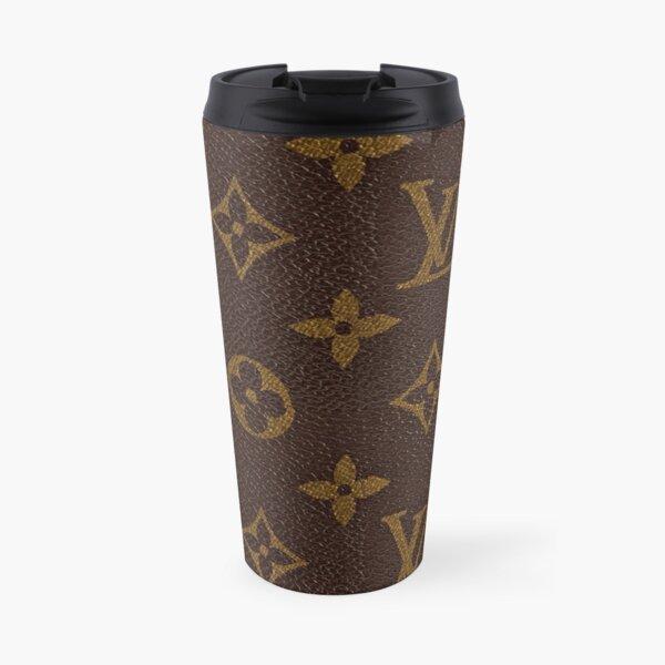 Luxury Brown Gold Louis V 2021 Pattern Monogram Original  Travel Mug