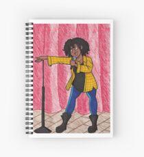 Stand Up Spiral Notebook