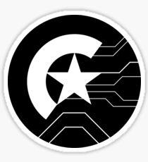 Stucky shield Sticker