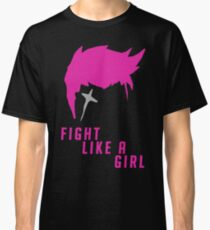 Zarya - Fight Like A Girl Classic T-Shirt