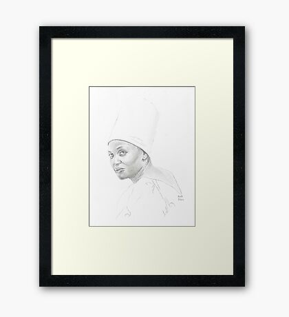 Mariam Makeba Framed Print
