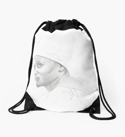 Mariam Makeba Drawstring Bag