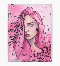 Rose - watercolor and gouache painting iPad Case/Skin