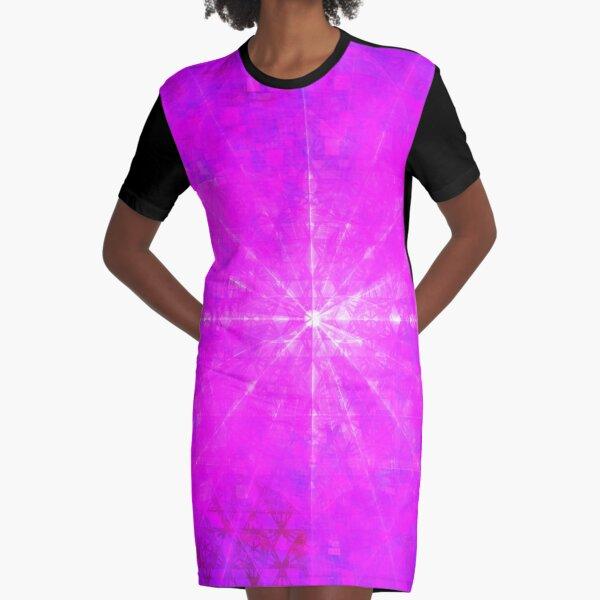 Mews 2017 Enlightening Blast || Future Life Fashion || Fractal Art Graphic T-Shirt Dress