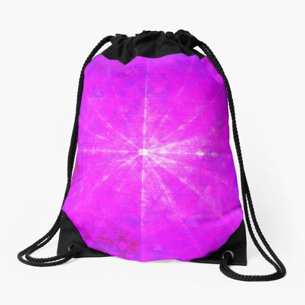 Mews 2017 Enlightening Blast    Future Life Fashion    Fractal Art Drawstring Bag