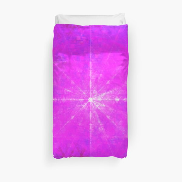 Mews 2017 Enlightening Blast || Future Life Fashion || Fractal Art Duvet Cover