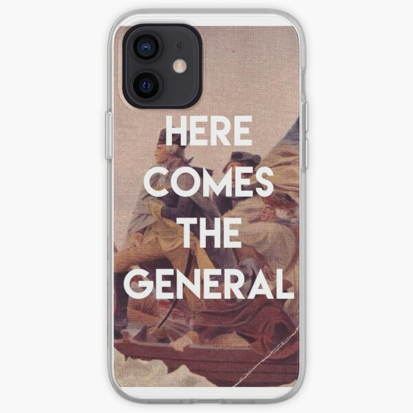 Here Comes the General - George Washington iPhone Soft Case