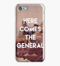 Here Comes the General - George Washington iPhone Case/Skin