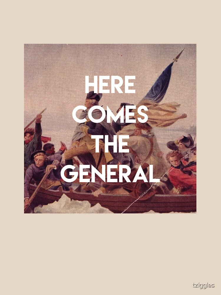 Here Comes the General - George Washington by tziggles