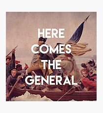 Here Comes the General - George Washington Photographic Print