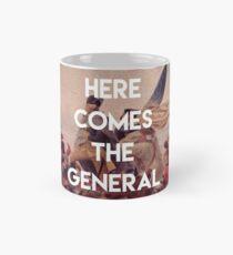 Taza clásica Aquí viene el general - George Washington
