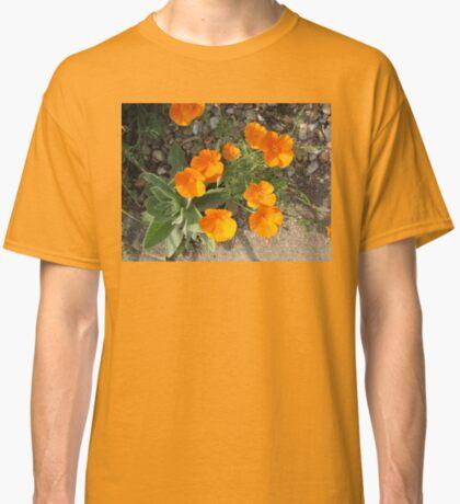 Färbe mich orange! California Poppies Classic T-Shirt