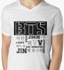 BTS! Men's V-Neck T-Shirt