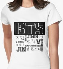 Camiseta entallada para mujer BTS!