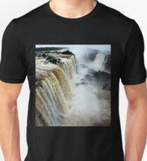 Devil's Throat at Iguassu Falls, Brazil & Argentina.  Unisex T-Shirt
