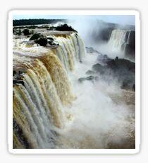 Devil's Throat at Iguassu Falls, Brazil & Argentina.  Sticker