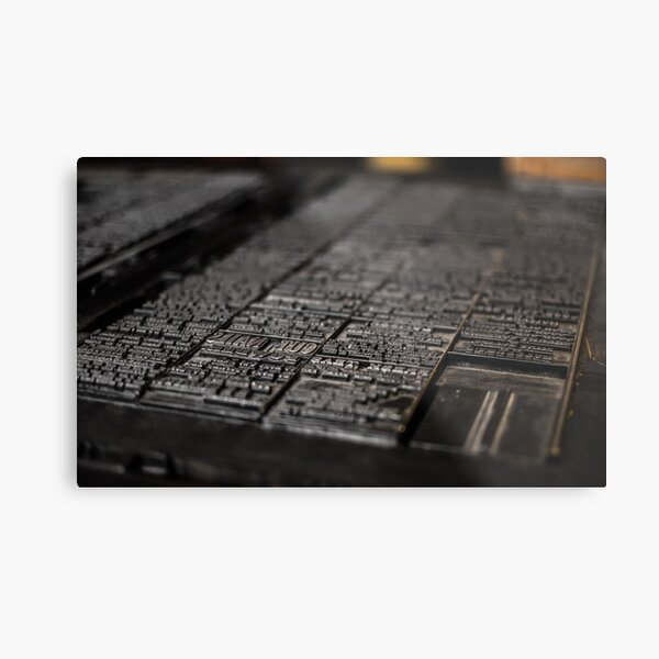 Print Shop, Upper Canada Village Metal Print