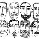 Beards. (plural) by Banarn