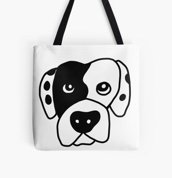 Benny the American Bulldog All Over Print Tote Bag