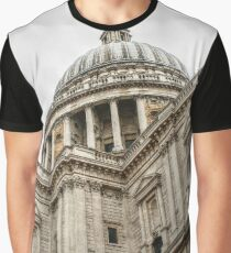Looking Up at the Dome of St Paul's Graphic T-Shirt