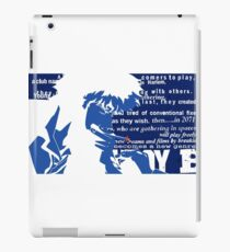 Spike Cowboy bebop iPad Case/Skin