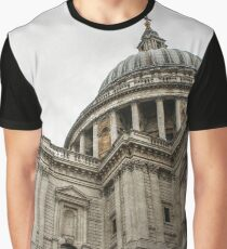 Dome of St Paul's Cathedral Graphic T-Shirt
