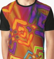 Linked - Abstract Graphic T-Shirt