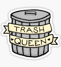 Trash Queen Sticker