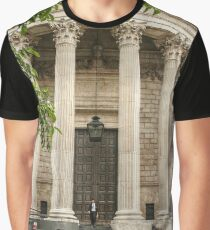 Leaving St Paul's Cathedral Graphic T-Shirt