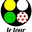 le tour jerseys by Nick  Taylor