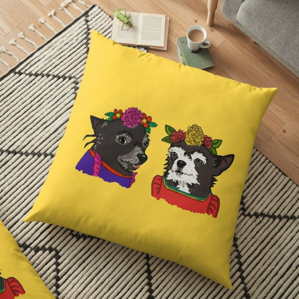 Frida and Rita Floor Pillow