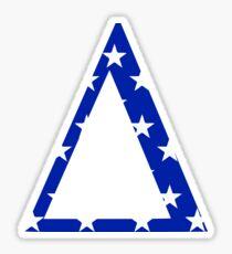 Stars Delta Sticker