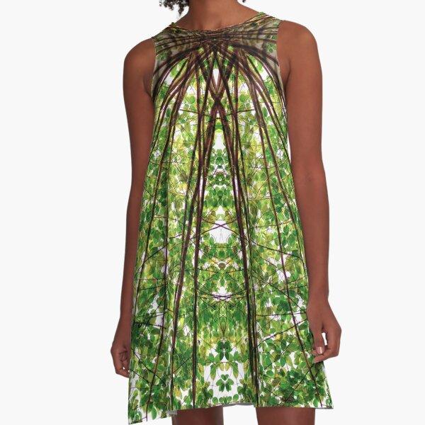 Tree Vision A-Line Dress