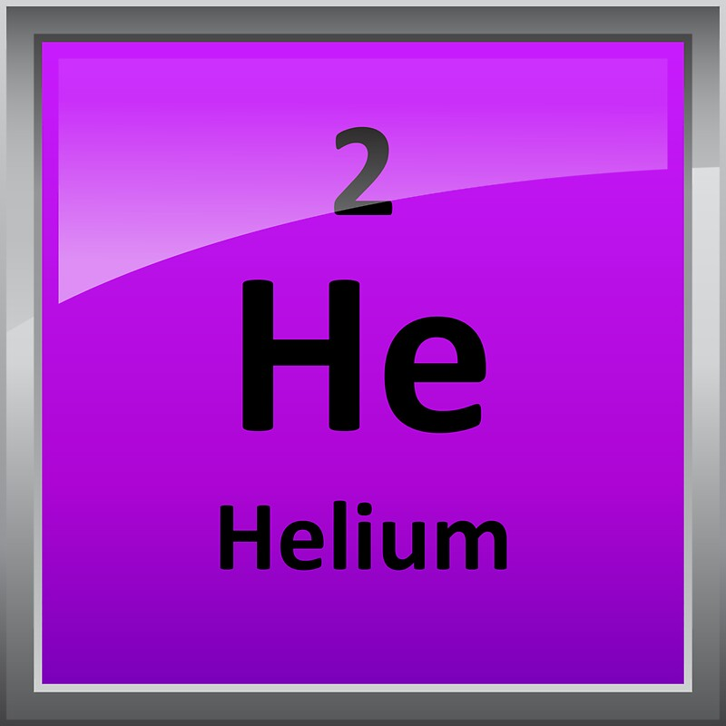 Helium element tile periodic table stickers by sciencenotes helium element tile periodic table by sciencenotes urtaz Images